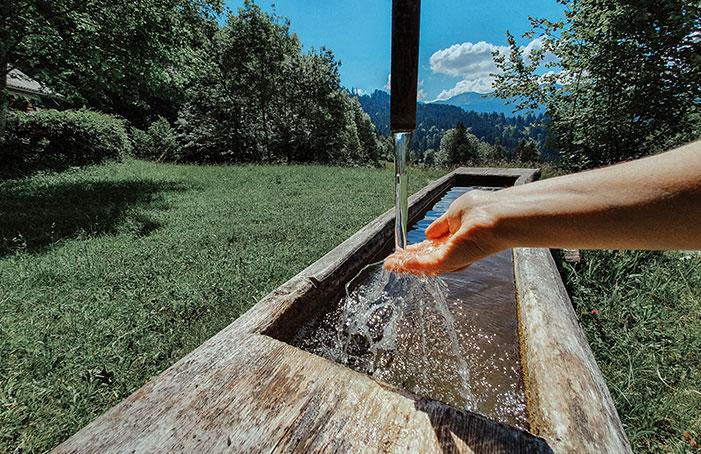 frisches-Quellwasser